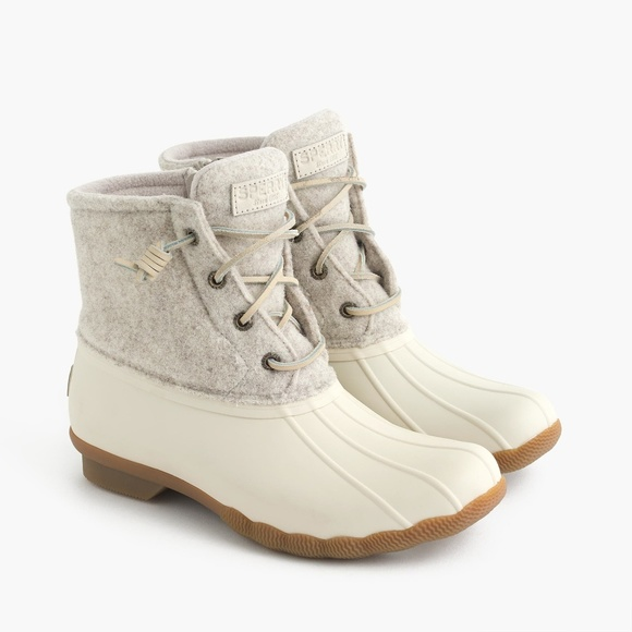 New Sperry Saltwater Quilted Wool Boot